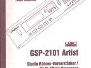 Bedienungsanleitung deutsch für DigiTech GSP 2101 Artist Owner's Manual Gitarren Multi Effects Processor - Schotten