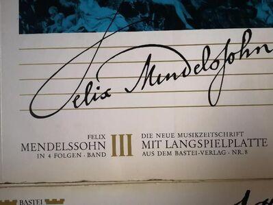 LP Vinyl Die grossen Musiker Bastei Mozart Rossini Mendessohn - Plettenberg