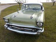 1957 Chevrolet Bel Air Front-Stoßstange Front Bumper California-Ausführung - Pleidelsheim