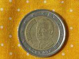 2 Euro Kursmünze Spanien 2000,Lot 27