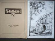 Hermann Kuhn, nach Bleistiftzeichnung, Wilhelmspalais Stuttgart, signiert - Königsbach-Stein