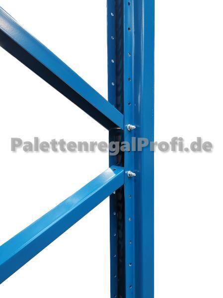 16,9 m Palettenregal Schwerlastregal NEU H:5,50 m für 90 Paletten - Wilhelmshaven