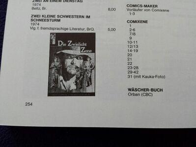 Allgemeiner Deutscher Comic- Preiskatalog 1986 - Kassel
