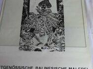Plakat Galerie f. Kunst aus Südostasien, zeitgenössische balinesische Malerei - Zeuthen