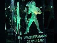 3D Glasblock mit Sternzeichen 'Wassermann' - Verden (Aller)