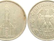 5 Reichsmark Münze, 1934 F, Silber - Kassel