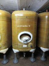 Polyestertank 2.500 L GFK-Tank Transporttank Wassertank Futtermitteltank