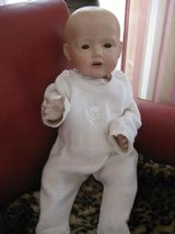 JDK Hilda Baby Repro, Real Seeley Body USA 1999, 40 cm