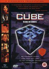 Sci-Fi Thriller Cube (Kanada, 1997), DVD, Original englische Import-Version, RC2, Amaray Case