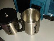 Makita DCM501Z Akku Kaffee Maschine mit zwei Edelstahl Thermo Tassen Original Makita, wie für Akkus von 12 bis 18V - neu unbenutzt - - Erfurt