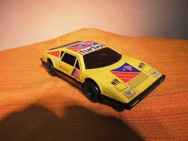 DDR Spielzeug - Auto, Friktionsmotor, Blech, Rallye Auto / Sammler, Ostalgie - Zeuthen