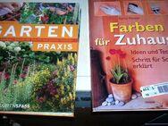 3 Bücher/GU Gartenspass Garten & Praxis/Farben für zu Hause/Gestalten mit Lichterketten - Zerbst (Anhalt) Zentrum