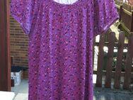 Shirt mit Muster, pink, Größe: 48 - Immenhausen