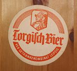 VEB Brauerei Torgisch Getränkekombinat Leipzig Bierdeckel BD