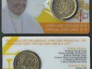 50 EURO CENT MÜNZE,Vatikan in COINCARD 2017 Lot 214