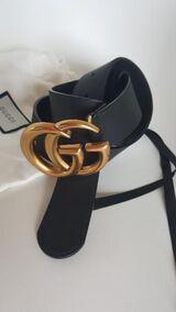 Gucci Gürtel Herren und Damen Unisex Belt Leder Ledergürtel