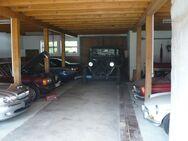 Biete Stellplatz (Stellplätze Garage Unterstellmöglichkeit) für Auto, Motorrad, Boot, Trailer, Wohnwagen, Wohnmobil, Anhänger usw!! - Jengen