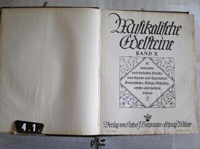 Noten antiquarisch Opern-Operetten-Salonstücke... - Hamburg