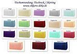Verleih Tischrock, Skirting, Tischumrand verschiedene Farben.