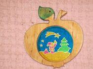 Fensterdeko - Fensterhänger - Apfel - Essen