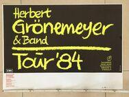 Plakat Herbert Grönemeyer, Bochum 84, Original, 86 x 60 cm - Coesfeld Zentrum