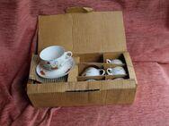Kaffee- / Teeservice aus Porzellan für sechs Personen - Bad Belzig Zentrum