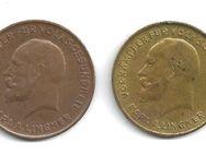 Medaille Wertmarke 10 und 20 Warenpunkte Lingner Werke Dresden (Sachsen) - Bremen