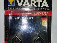 Varta 751 2x Krypton 2,5V 0,75A neu in OVP. - Berlin Marzahn-Hellersdorf