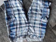 Herren Bermudas blau weiss kariert kaum getragen Gr. L Weite 36 € 7,- - Euskirchen