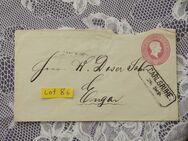 Baden 3 Kreuzer Ganzsachen  Briefumschlag 1867,Lot 86