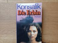 Die Erbin. Gebundene Ausgabe, ohne Jahresangabe, Bertelsmann Verlag. Heinz G. Konsalik (Autor) - Rosenheim