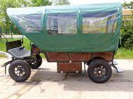 Neuer Planwagen mit Traktorrädern - Buttstädt