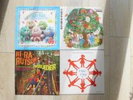 Kinder Schallplatten Vinyl Kinderlieder Kindertänze Hoy Hoy Kinder-Party Tanzspiele Fidula  Hab-Dich-Lieb Bärchis ab 3,- - Flensburg