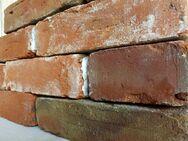 klassisch rote original alte Ziegelsteine Klinker gebrauchte Handform – Ziegel Backsteine Feldbrand Sichtziegel Gartengestaltung Ruinenmauer - Halle (Saale)
