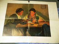 Kunstdruck Noch an Schön'n Gruß Emil Rau, Kunstbeilage, Illustrierte Welt 1897 - Zeuthen