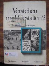 """Schulbuch """"Verstehen und Gestalten 2"""" von Gerhard Schoebe, 159 Seiten, Oldenburg Verlag, ISBN: 3486147021, 6. Schuljahr, 2,- €"""