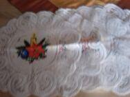 4 runde Deckchen mit Kerzenmotiv 28 cm - Euskirchen