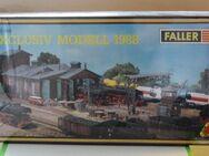 Faller Exclusivmodell 1988 - Bahnbetriebswerk mit Zertifikat - Stolberg (Rheinland, Kupferstadt)