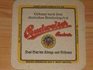 Bierdeckel Brauerei Budweiser Budvar Tschechien BD - Nürnberg