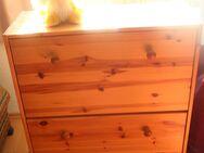 Hellbrauner Holz-Klapp-Schuhschrank mit Raum für sehr viel Schuhe - Bad Belzig