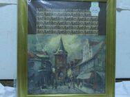 Stuckrahmen mit Holzbasis / Bilderrahmen neuwertig / bronzierter Bilderrahmen - Zeuthen