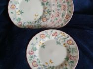 Churchill Staffordshire rosa Briar Rose Dessertteller - Remagen Zentrum