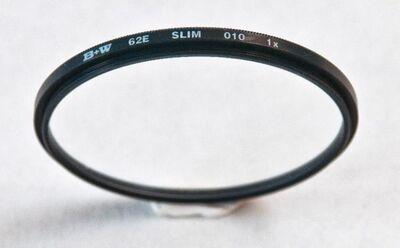 "B+W UV-Filter (010) ""Slimline"" 62 E - Meerbusch"