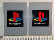 (2) Sony CEE Playstation Original Sales Stand Playstation Logo Sony Playstation MERCHANDISE