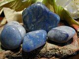 Blauquarz Trommelstein, Heilstein