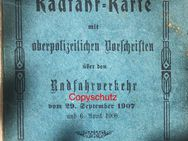 Original Radfahrkarte Königreich Bayern 1907 - Seefeld (Bayern)