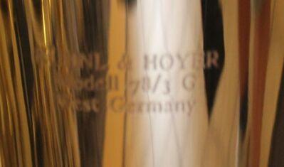Kühnl & Hoyer Bariton 78/3G, Goldmessing inkl. Koffer - Hagenburg