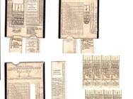 Perutz Belichtungsmesserkarte - Fürth