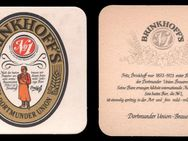 """Brinkhoff's Nr.1"" Dortmunder Union DU Brauerei Bierdeckel BD - Nürnberg"