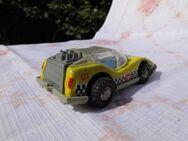 DDR Spielzeug Rennwagen GT ca.1975 / Filiusreihe Schwungradmotor Friktion / RAR - Zeuthen